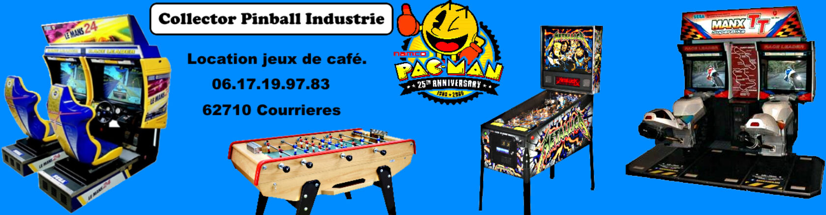 Collector Pinball industrie